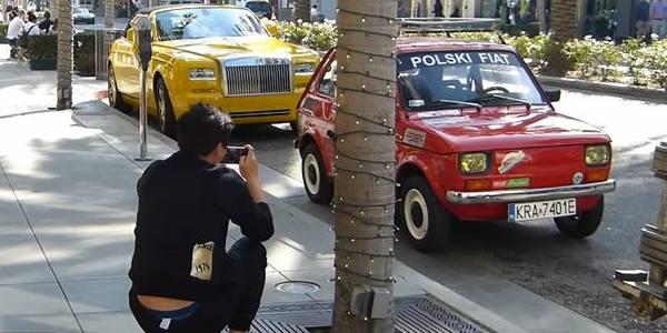 Fiat 126p nie gorszy od Rolls Royce'a 11